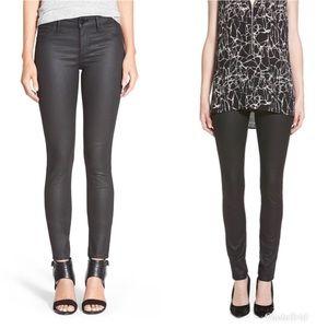 DL1961 Florence Coated Instasculpt Skinny Jeans